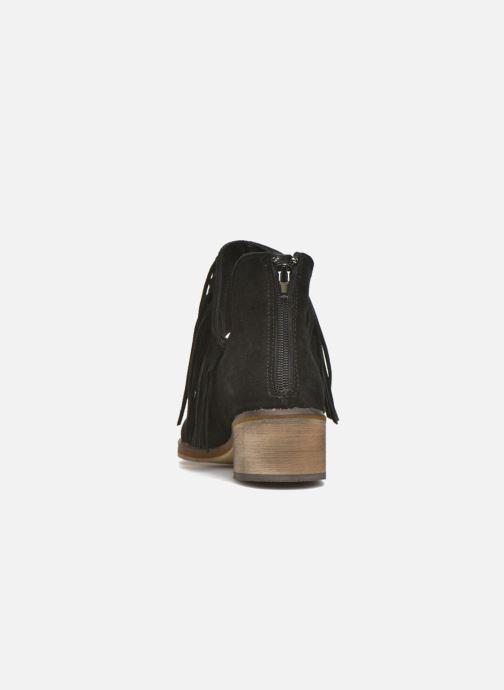 Bottines et boots Vero Moda Laure Leather Boot Noir vue droite