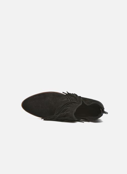 Bottines et boots Vero Moda Laure Leather Boot Noir vue gauche