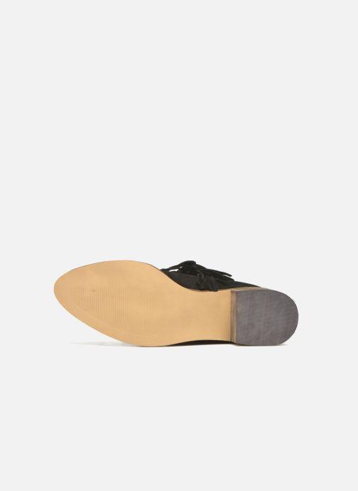 Bottines et boots Vero Moda Laure Leather Boot Noir vue haut