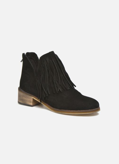 Bottines et boots Vero Moda Laure Leather Boot Noir vue détail/paire