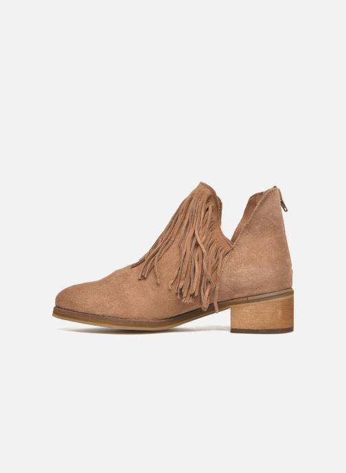 Botines  Vero Moda Laure Leather Boot Marrón vista de frente