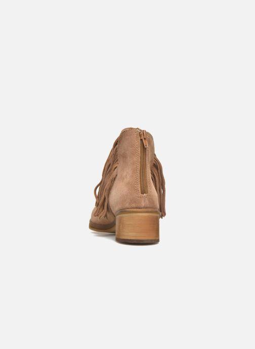 Botines  Vero Moda Laure Leather Boot Marrón vista lateral derecha