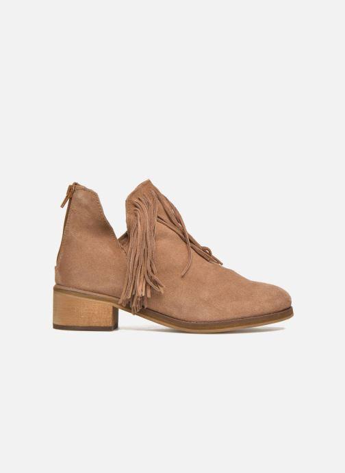 Bottines et boots Vero Moda Laure Leather Boot Marron vue derrière