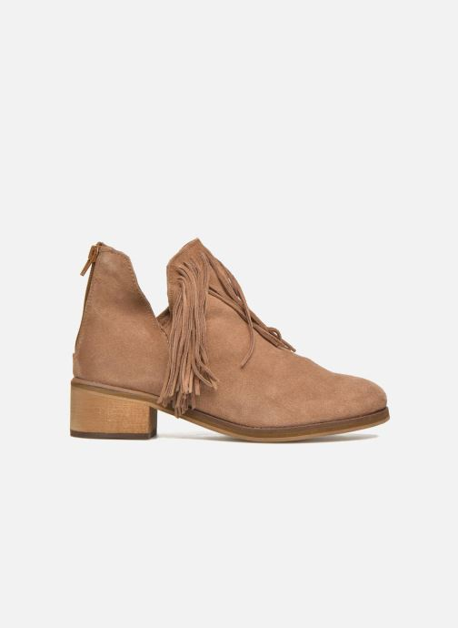 Botines  Vero Moda Laure Leather Boot Marrón vistra trasera