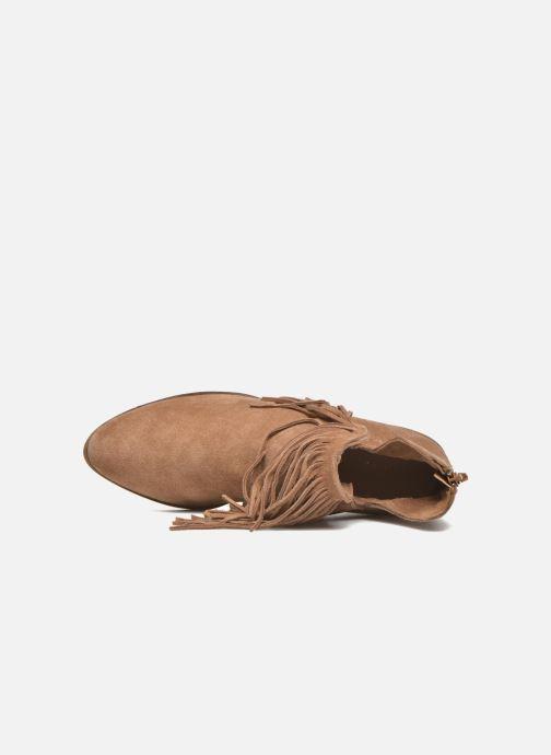 Botines  Vero Moda Laure Leather Boot Marrón vista lateral izquierda