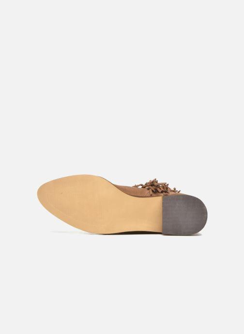 Botines  Vero Moda Laure Leather Boot Marrón vista de arriba