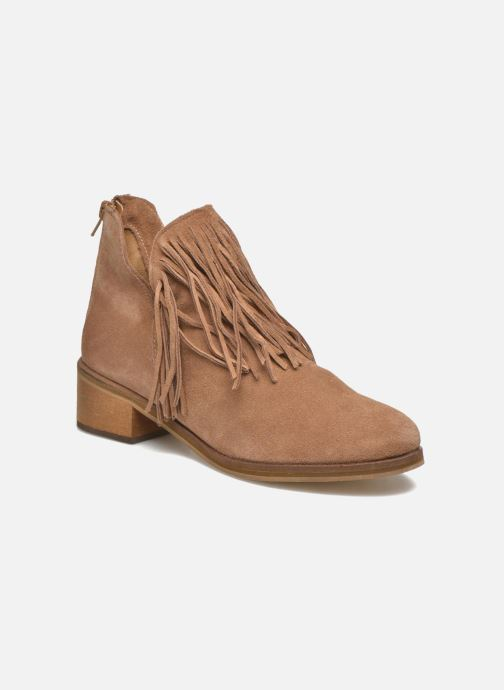 Botines  Vero Moda Laure Leather Boot Marrón vista de detalle / par