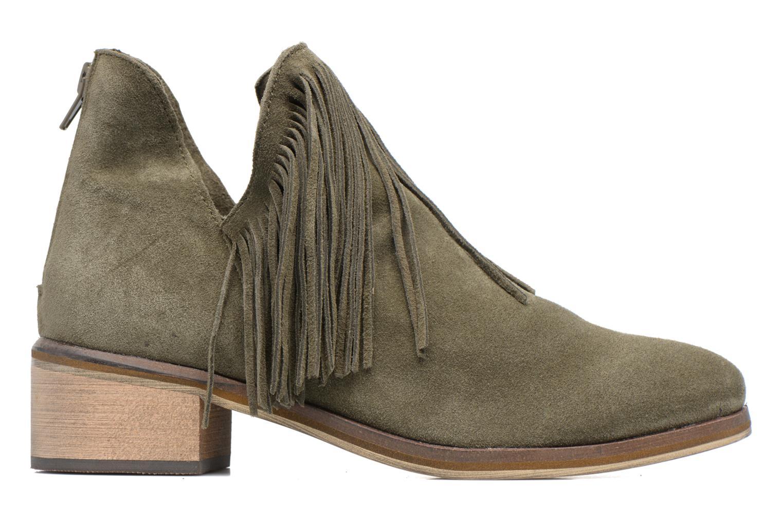 Bottines et boots Vero Moda Laure Leather Boot Vert vue derrière