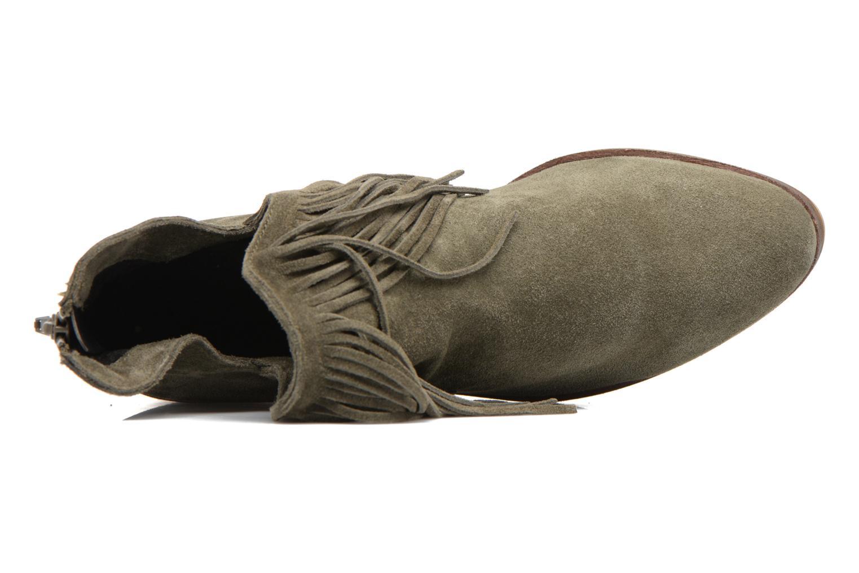 Bottines et boots Vero Moda Laure Leather Boot Vert vue gauche