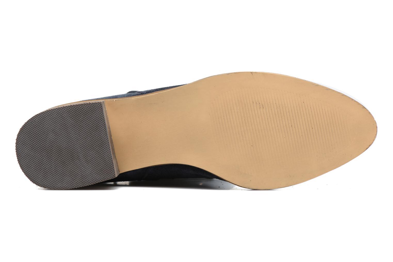 Bottines et boots Vero Moda Laure Leather Boot Bleu vue haut