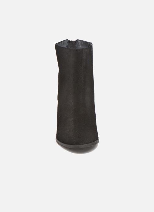 Bottines et boots Vero Moda Dorthe Leather Boot Noir vue portées chaussures