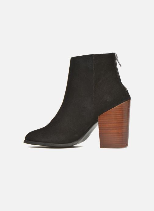 Bottines et boots Vero Moda Dorthe Leather Boot Noir vue face