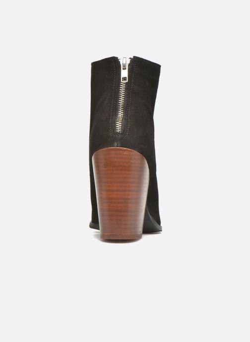 Bottines et boots Vero Moda Dorthe Leather Boot Noir vue droite