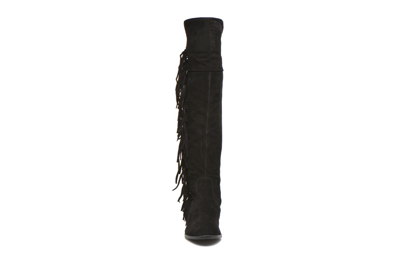 Bottes Vero Moda Anne High Noir vue portées chaussures