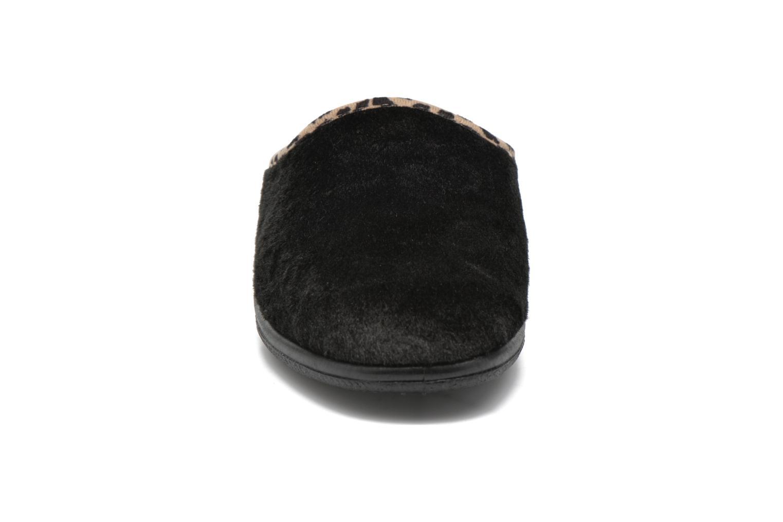 Chaussons Rondinaud Esnes Noir vue portées chaussures