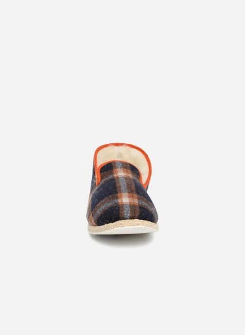 Chaussons Rondinaud Casteras Bleu vue portées chaussures