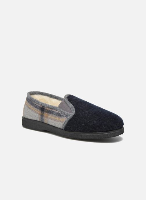 Hjemmesko Rondinaud Douvres Blå detaljeret billede af skoene