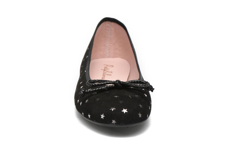Ballerines Pretty Ballerinas Nicole Noir vue portées chaussures