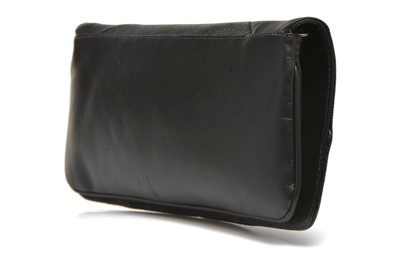 Sacs pochettes San Marina POMANA Sac pochette cuir Noir vue droite