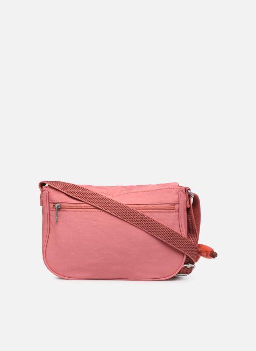 Handtaschen kipling EARTHBEAT S rosa ansicht von vorne