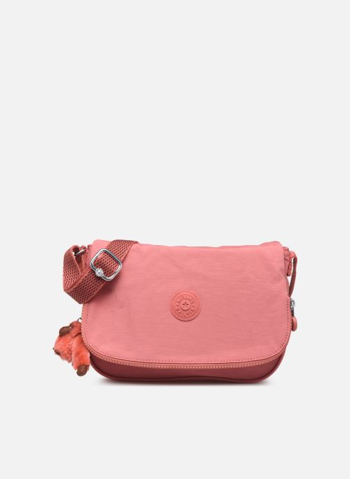 Handtassen kipling EARTHBEAT S Roze detail