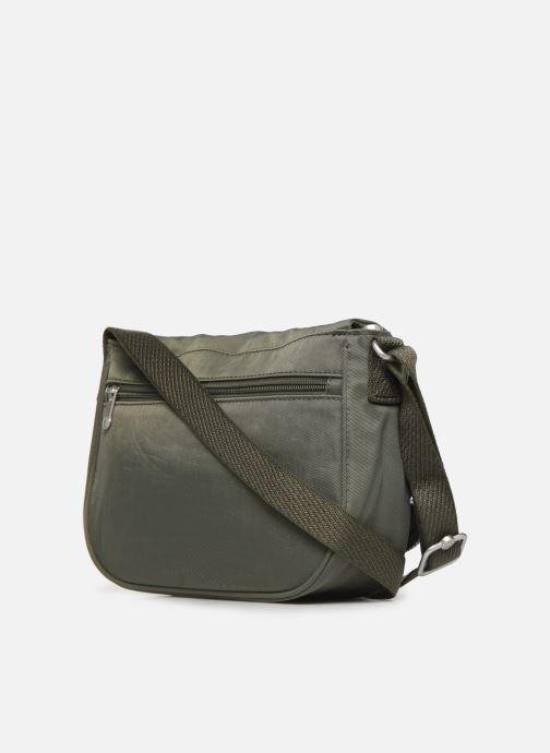 Handtaschen kipling EARTHBEAT S grün ansicht von rechts