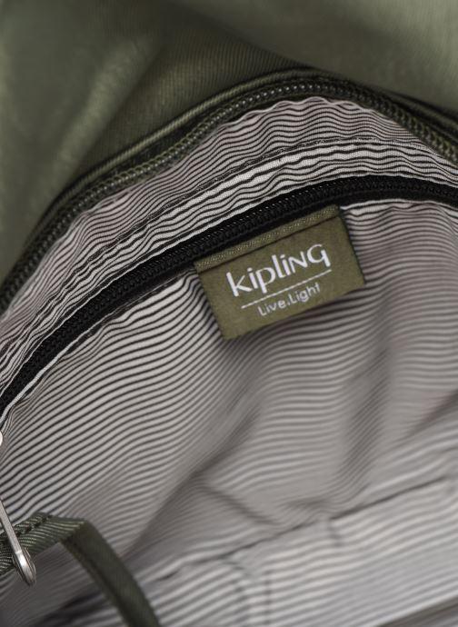 Handtaschen Kipling EARTHBEAT S grün ansicht von hinten