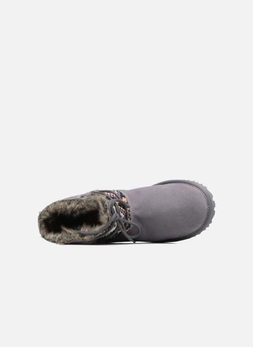 Bottines et boots Roxy Tara Gris vue gauche