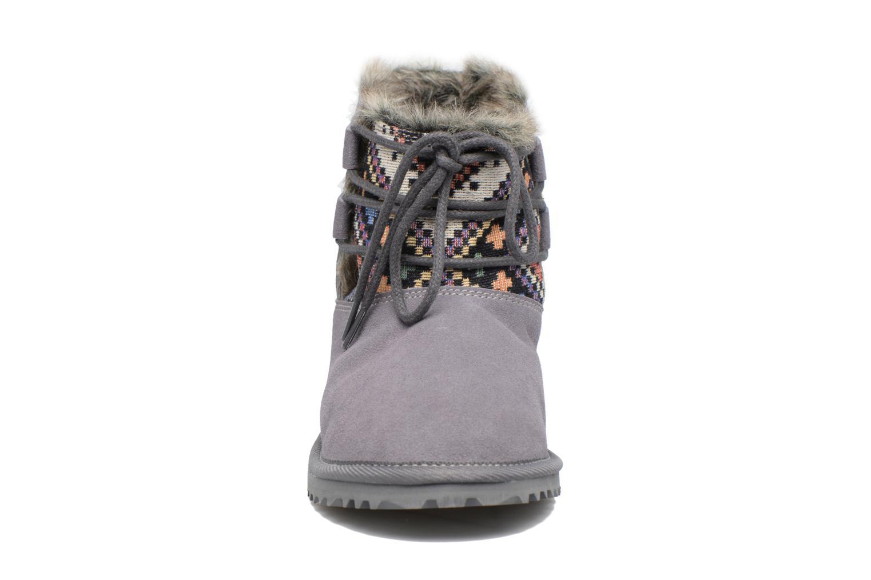 Bottines et boots Roxy Tara Gris vue portées chaussures