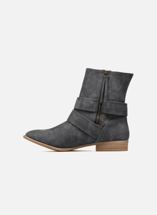 Bottines et boots Roxy Bixby Gris vue face