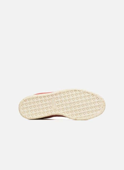 Sneaker Puma Select Clyde x Careaux rosa ansicht von oben