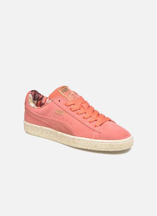 Sneaker Puma Select Clyde x Careaux rosa detaillierte ansicht/modell