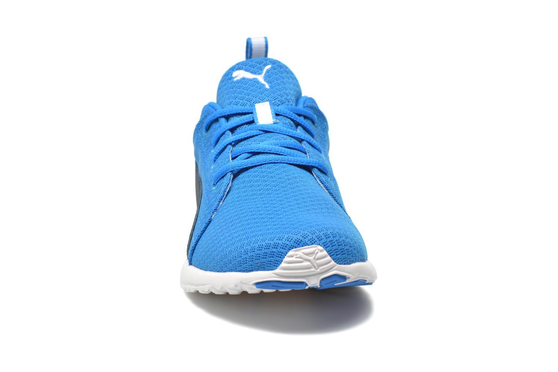 Chaussures de sport Puma Carson Mesh Bleu vue portées chaussures