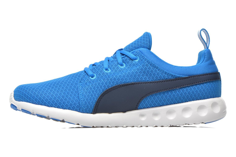 Chaussures de sport Puma Carson Mesh Bleu vue face