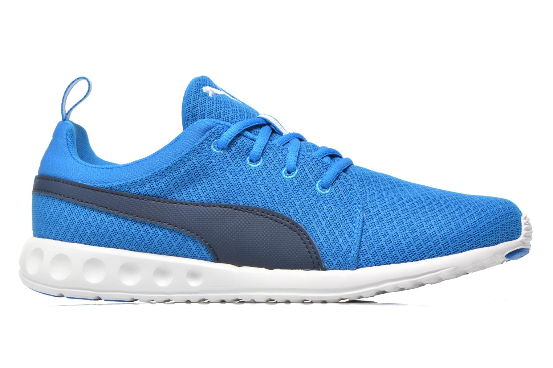 Chaussures de sport Puma Carson Mesh Bleu vue derrière