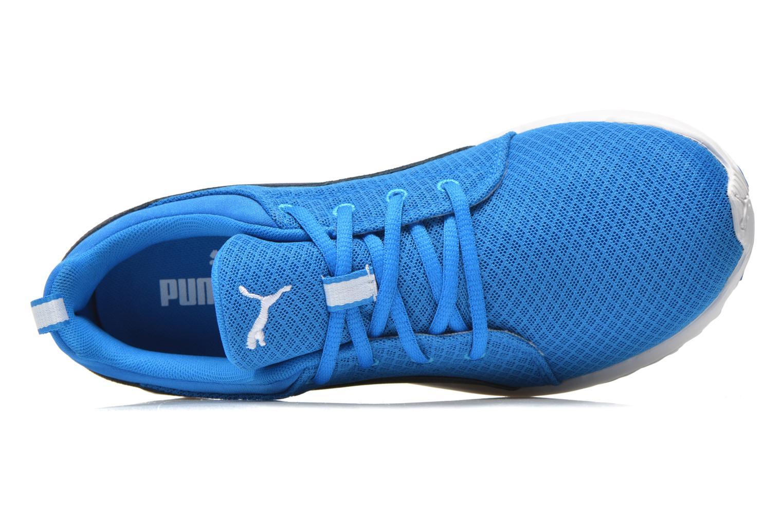 Chaussures de sport Puma Carson Mesh Bleu vue gauche