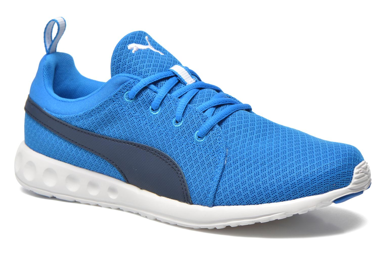 Chaussures de sport Puma Carson Mesh Bleu vue détail/paire
