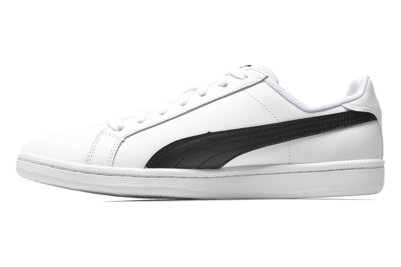Baskets Puma Puma Smash Leather Blanc vue face