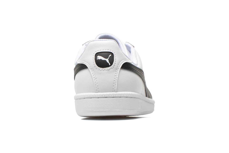 Baskets Puma Puma Smash Leather Blanc vue droite