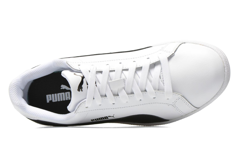 Baskets Puma Puma Smash Leather Blanc vue gauche