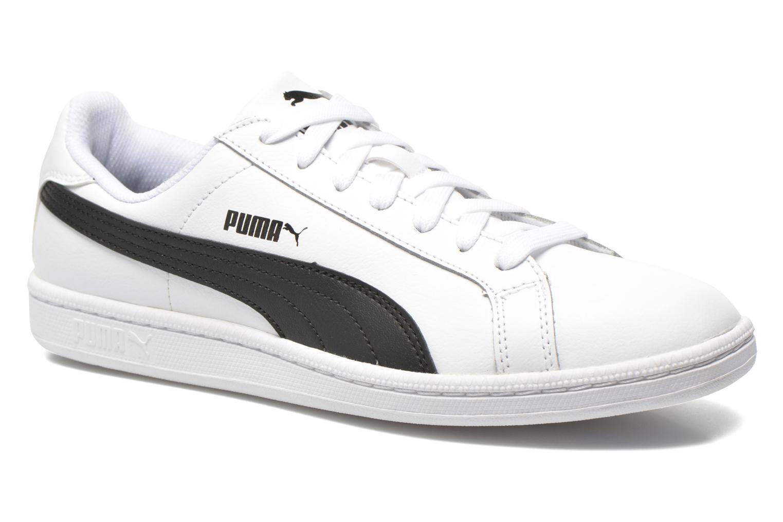 Baskets Puma Puma Smash Leather Blanc vue détail/paire