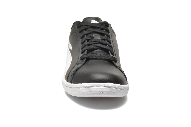 Baskets Puma Puma Smash Leather Noir vue portées chaussures