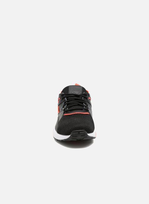 Baskets Puma Trinomic Blaze Of Glory Sock Tech Noir vue portées chaussures