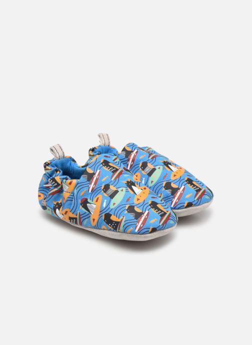 Hausschuhe Poco Nido Penguins blau detaillierte ansicht/modell