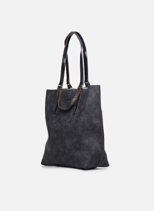 Sacs à main Tamaris AMBER Shopping bag Bleu vue portées chaussures