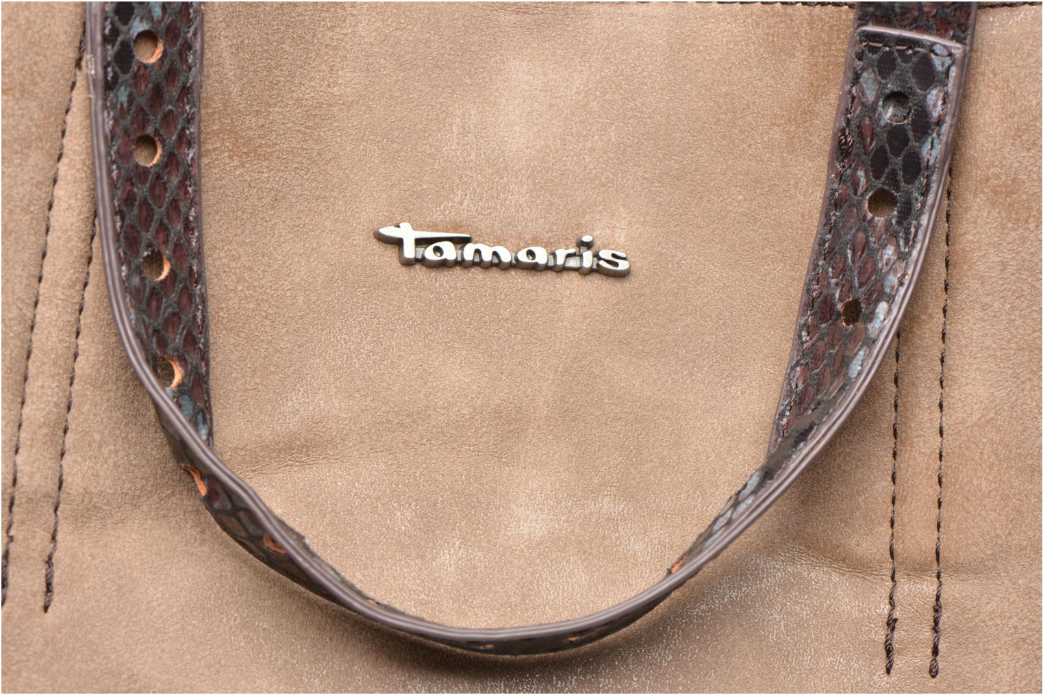 Handtassen Tamaris AMBER Shopping bag Beige links