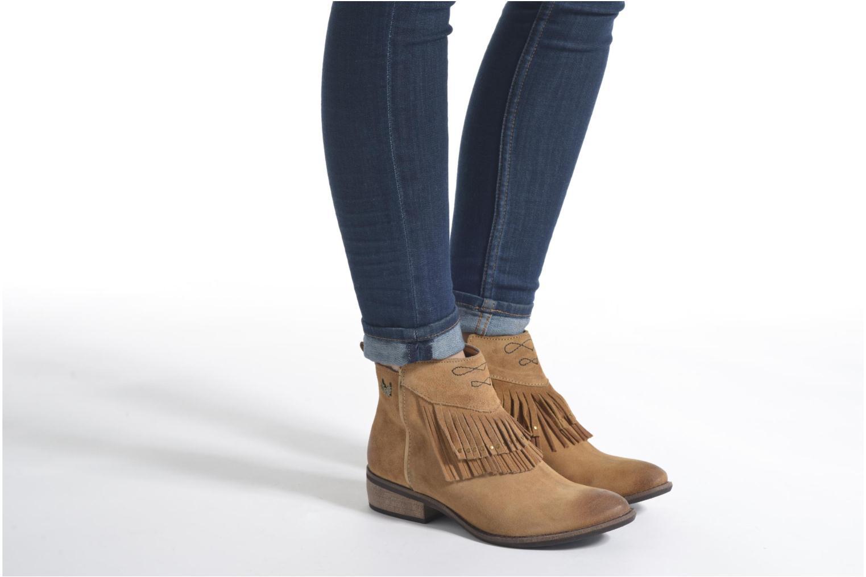 Bottines et boots Kaporal Westy Noir vue bas / vue portée sac