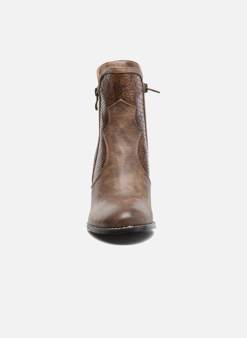 Bottines et boots Kaporal Pim Marron vue portées chaussures