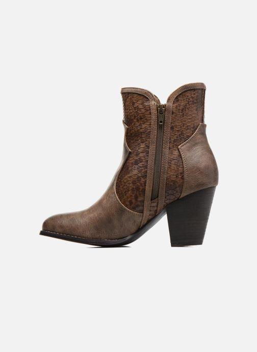 Bottines et boots Kaporal Pim Marron vue face