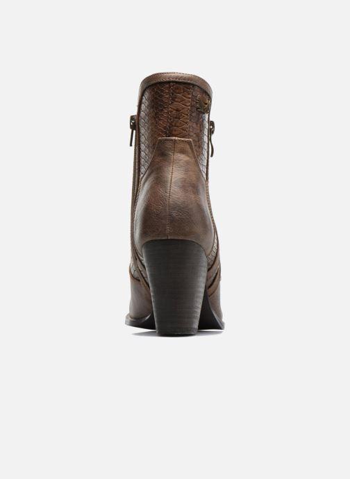 Bottines et boots Kaporal Pim Marron vue droite